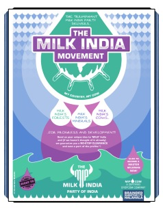 Come, join the Milk India Party! Bring your own milk!
