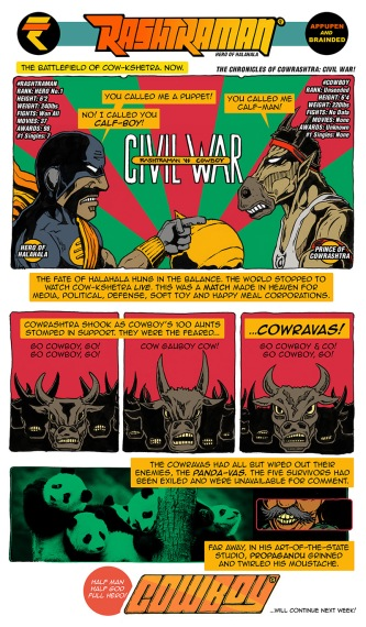 #RashtraMan vs #Cowboy: CIVIL WAR