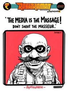 #Propagandhi quotes Marshall McDonald. By Appupen & T. Quarantino