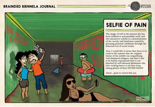Chacko shoots the image of the self at the Kochi Biennala