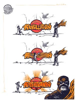 Brainded India Published by Tintin Quarantino Page Liked · April 25 · Edited · The Rashtrian Revolution!