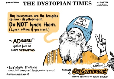 Don't be a Sadguru - be a happy Adguru!