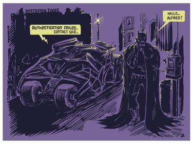 India shows Gotham City how it's done. #batman