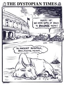 In modern Rashtria, the bullshit grows