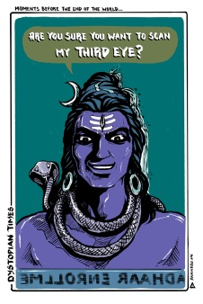 Maha Shivaratri. Celebrate the great night of Shiva. Love from Halahala.