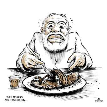 """""""The president of India also needs food to eat. It doesn't matter how much money you have. You can't eat money, you need food. And who gives you food?"""""""