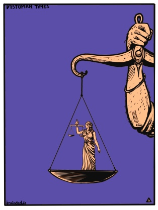 The balance of power...