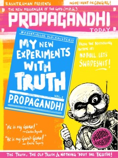 The new truth from Propagandhi (Chetan Baguette's guru). By Appupen & T. Quarantino