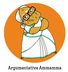 Argumentative Ammamma can argue her way out of a national crisis. Beware, she takes no prisoners! By Lavanya Karthik. Find out which supergranny you are! https://uquiz.com/zBb629/what-kind-of-a-supergranny-is-yours