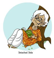 Detached Dida firmly believes the world's ups and downs can sort themselves out. By Lavanya Karthik. Find out which supergranny you are! https://uquiz.com/zBb629/what-kind-of-a-supergranny-is-yours