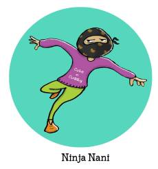 Ninja Nani was a regular granny until her TV set zapped her with the powers of a cartoon ninja. Now she backflips, cartwheels and fights crime in Gadbadnagar, while dressed badly. Her weapons of choice... a walking stick and her false teeth. By Lavanya Karthik. Find out which supergranny you are! https://uquiz.com/zBb629/what-kind-of-a-supergranny-is-yours